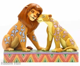 "Lion King ""Savannah Sweethearts""Simba & Nala H13cm Jim Shore 6005961"