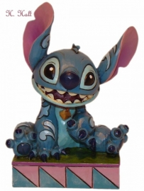 "STITCH ""Ohana means Family""  9 cm JIM SHORE 4016555"