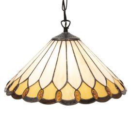 5989 Hanglamp Tiffany Ø40cm Klasika