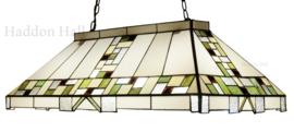5915 Hanglamp Tiffany Biljart model B92cm Poiret