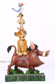 Lion King Stacking figurine H23cm Jim Shore 6005962