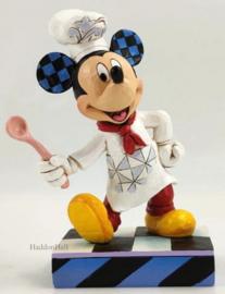 Mickey Chef H15cm Jim Shore 6010090 Chefkok