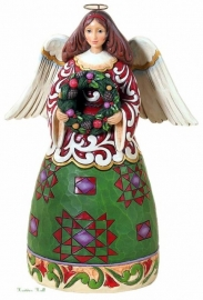 Prepare For Christmas Joy H 25cm JIM SHORE ENGEL collector's item uit 2012 4027719
