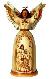 """""""The Greatest Gift"""" H19cm Kerst engel ivoor/goud Jim Shore 4044105"""