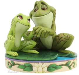 Tiana & Naveen as Frogs H11cm Jim Shore 6005960
