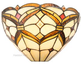 5886 Wandlamp Tiffany B30cm Schelpmodel Lancaster