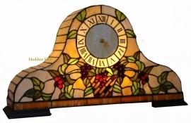 9242 Tiffany lamp Klok  B55cm