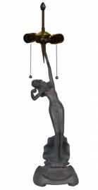 5719 Voet voor tafellamp H66cm Jugendstil Dame