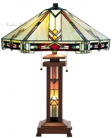 5423 5781 Tafellamp Tiffany H70cm Ø57cm Durban