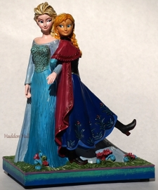 "Frozen ""Sisters Forever"" Musical H20cm 4049101 Disney Traditions"