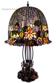 6014 Tafellamp Tiffany H75cm Ø45cm Eden