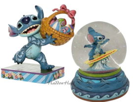Stitch - Set van 2 - Bizarre Bunny & Waterbal - Jim Shore