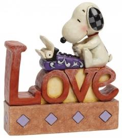 SNOOPY  Love   H14,5cm Jim Shore 4042379 Peanuts