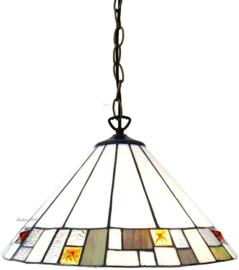 5877 97 Hanglamp Tiffany Ø40cm Poiret