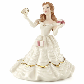 Belle's Birthday Surprise H13cm Disney by Lenox 853107