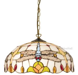 5945 97 Hanglamp Tiffany Ø40cm Dragonfly Mavi
