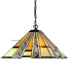 T4 Hanglamp Tiffany 40x40cm Serpentines