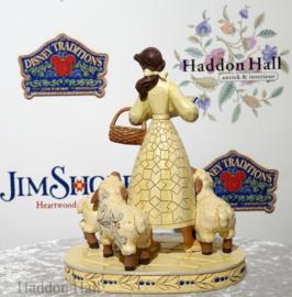 """Belle """"Bookish Beauty"""" H21cm Jim Shore 6002338"""
