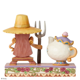 Belle - Mrs. Potts & Cogtworth H13cm Jim Shore 6002813