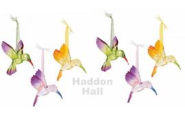 Birds - Set van 6 Hummingbirds 10cm - Happy Heart 6006058