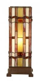 9025 Tafellamp windlicht Tiffany H44cm Art Deco motief