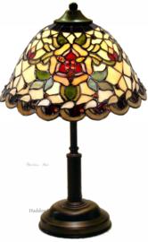 9114 Tafellamp Tiffany H38cm Ø26cm Santana