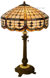 5216 Tafellamp Tiffany H75cm Ø51cm Cirque