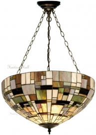 1143 SU3 Hanglamp Tiffany Ø50cm  Art Deco Green