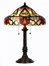 5535 Tafellamp Tiffany H57cm Ø42cm