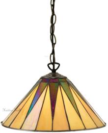 68440 Hanglamp Tiffany Ø30cm Dark Star