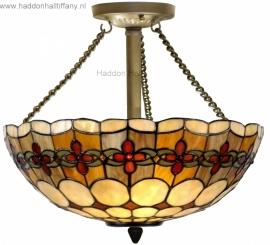 5834 Hanglamp Plafonniere Tiffany Ø40cm Victoria