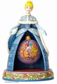"CINDERELLA JAQ & GUS ""Tidings of Friendship"" H20cm Jim Shore 4057945"