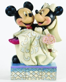 MICKEY & MINNIE  Congratulations!   17 cm  JIM SHORE 4033282