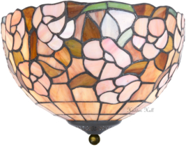 5852 80 Plafonniere Tiffany Ø30cm Pink Marta