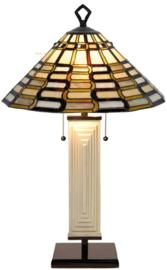 7856 9340 Tafellamp Tiffany Ø49cm