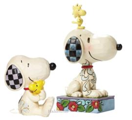 Snoopy & Woodstock - Set van 2 Jim Shore Peanuts figurines