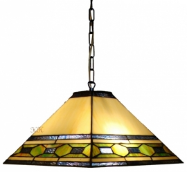 5702 Hanglamp Tiffany 36x36cm Memphis