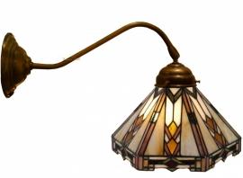 9113-410 Wandlamp Tiffany Ø25cm Art Deco