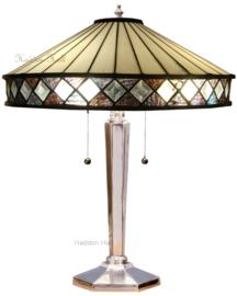 T4P40 Tafellamp Tiffany H55cm Ø40cm Fargo