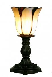 5136 Tafellampje Tiffany H32cm Ø16cm Desertwave