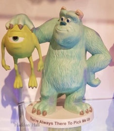 "Sulley & Mike ""You're Always There To Pick Me"" H16cm Disney Showcase 161703"
