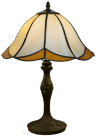 167  Tafellamp Tiffany H48cm Ø30cm Charme
