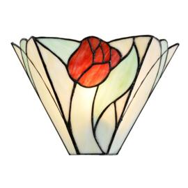 7871 Wandlamp Tiffany B30cm Tulip