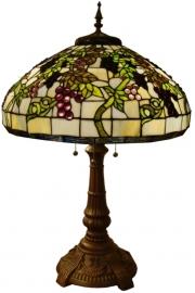5340 Tafellamp Tiffany H77cm Ø51cm  Druva