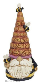 Gnome with Bees H15cm Jim Shore 6010287