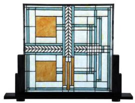 7864 Voorzetraam Frank Lloyd Wright B70cm op voet
