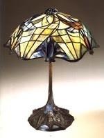 Tiffany lampen en kunst