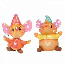 Jaq & Gus Set van 2 H9cm Disney by Miss  Mindy 6003770