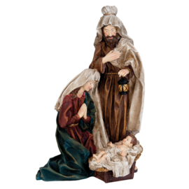 Kerstgroep - Heilige Familie  H63cm