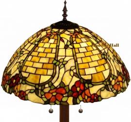 5429 9454 Vloerlamp Tiffany Ø50cm Wallflower Ronde voet